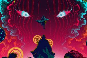 Doctor Strange Movie Art Wallpaper