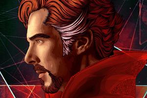 Doctor Strange Vector Art