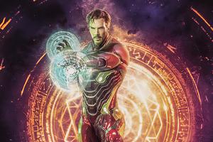 Doctor Strange X Iron Man 4k