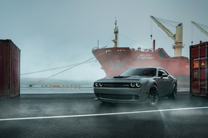 Dodge Challenger 4k New