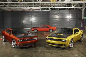 Dodge Challenger All Models Wallpaper