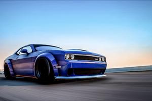 Dodge Challenger Hellcat Gta V 4k Wallpaper