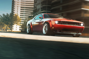 Dodge Challenger Need For Speed Heat 4k Wallpaper