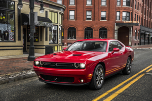 Dodge Challenger Red Car