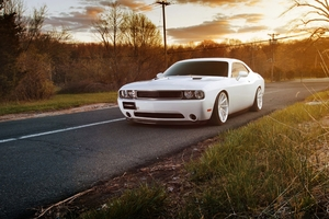 Dodge Challenger Srt 4k