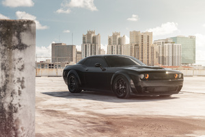 Dodge Challenger SRT 8k 2019 Wallpaper