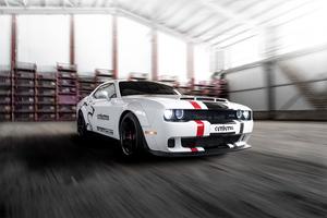 Dodge Challenger Srt Hellcat Cerberus Wallpaper
