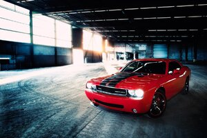 Dodge Challenger SRT Red Wallpaper