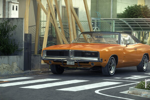Dodge Charger 1969 RT In Tokyo