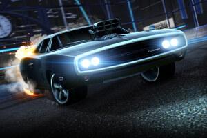 Dodge Charger Rocket League Wallpaper