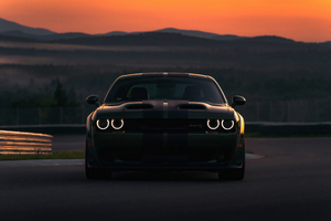 Dodge Charger SRT Hellcat 2019 4K Wallpaper
