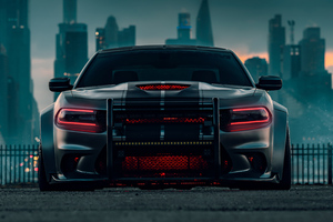 Dodge Charger SRT Hellcat 2020 4k Wallpaper
