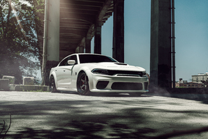 Dodge Hellcat Widebody Velgen KC Wide Wallpaper
