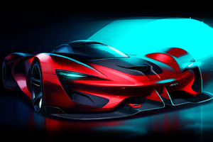 Dodge SRT Tomahawk Wallpaper