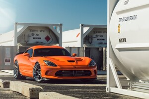 Dodge Viper ADV1 Wheels Wallpaper