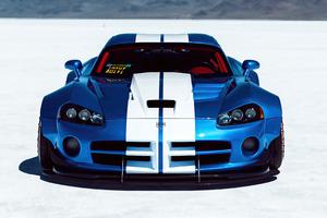 Dodge Viper Widebody 4k Wallpaper