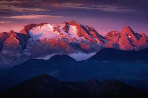 Dolomiti Sunrise 4k