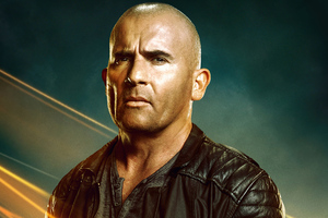 Dominic Purcell Heat Wave Legends Of Tomorrow 2021 Wallpaper