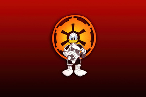 Donald Duck Stormtrooper