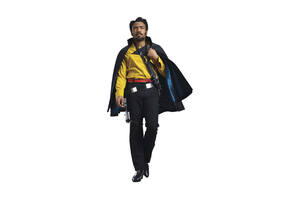 Donald Glover As Lando In Solo A Star Wars Story Movie 2018 Wallpaper