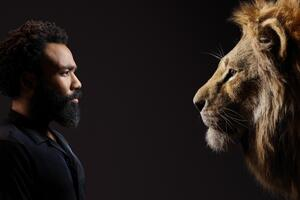 Donald Glover As Simba The Lion King 2019