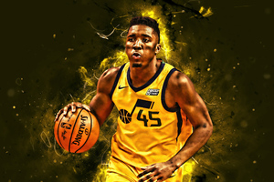 Donovan Mitchell Wallpaper
