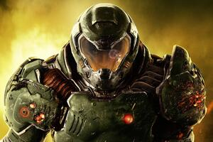 Doom 4 2016 Video Game Wallpaper