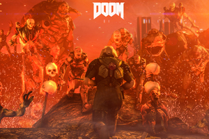Doom 4 Digital Art Wallpaper