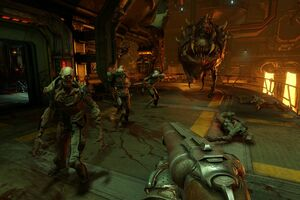 Doom 4 Xbox GamePlay Wallpaper