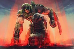 Doom Crossing Eternal Horizons Wallpaper