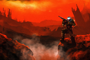 Doom Doom Slayer 4k Wallpaper