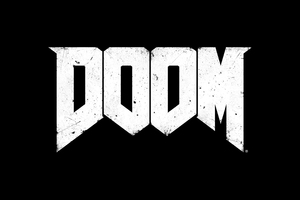 Doom Game Logo Wallpaper