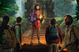 Dora And The Lost City Of Gold 2019 Wallpaper