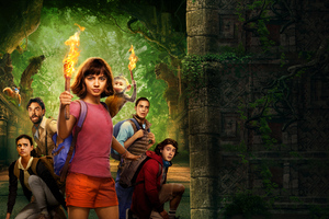 Dora The Explorer Movie 8k Wallpaper