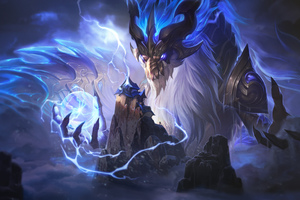 Dragon Aurelion Sol League Of Legends 8k Wallpaper