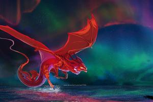 Dragon Awakening 5k Wallpaper