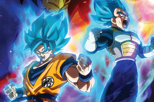 Dragon Ball Super Broly Movie 2019 Wallpaper