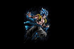 Dragon Ball Z Gogeta 4k