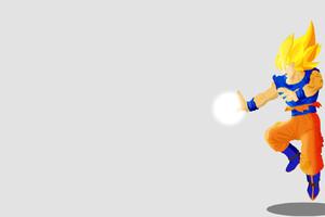Dragon Ball Z Illustration Goku Wallpaper