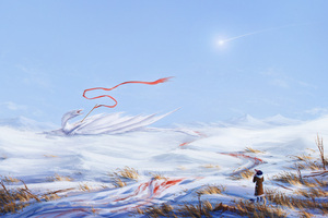 Dragon Blood Cold Fantasy Freedom Viewer Looking At It 5k Wallpaper