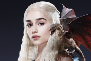 Dragon Daenerys Targaryen Wallpaper