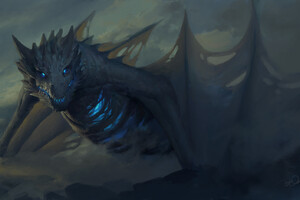 Dragon Game Of Thrones Artwork