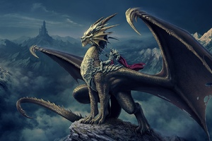 Dragon Knight Fantasy Art