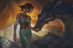 Dragon Master Attachment 4k Wallpaper