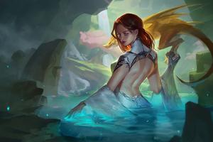Dragon Master Girl 4k Wallpaper