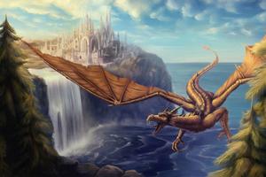 Dragon Rider 4k Wallpaper