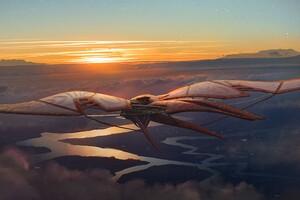 Dragonfly Ship Design 4k