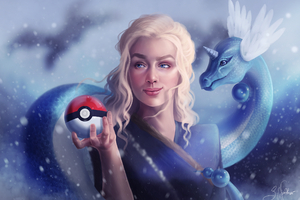 Dragons Daenerys With Pokeball