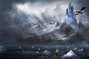 Dragons Fantasy Wallpaper