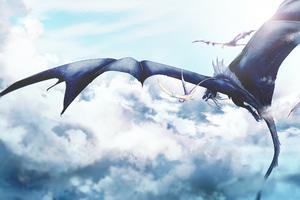 Dragons Morning Ride 4k Wallpaper